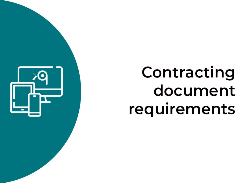 Contracting-document-equirements