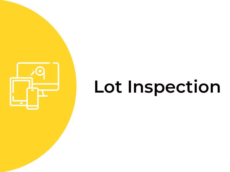Lot-Inspection